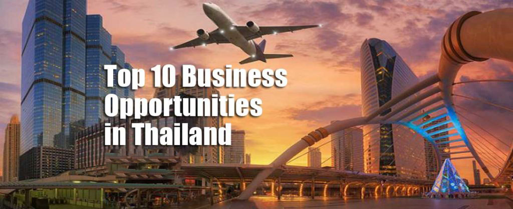 Top 10 business opportunities Thailand