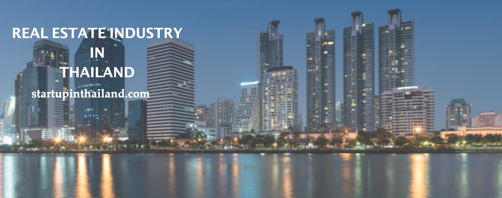 real estate industry in thailand cover photo