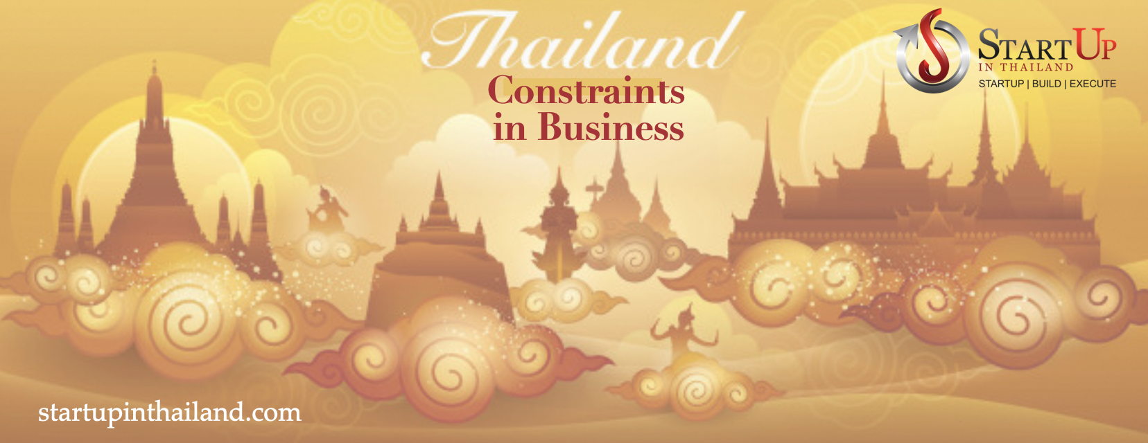 Thailand constraints in business graphic cover photo